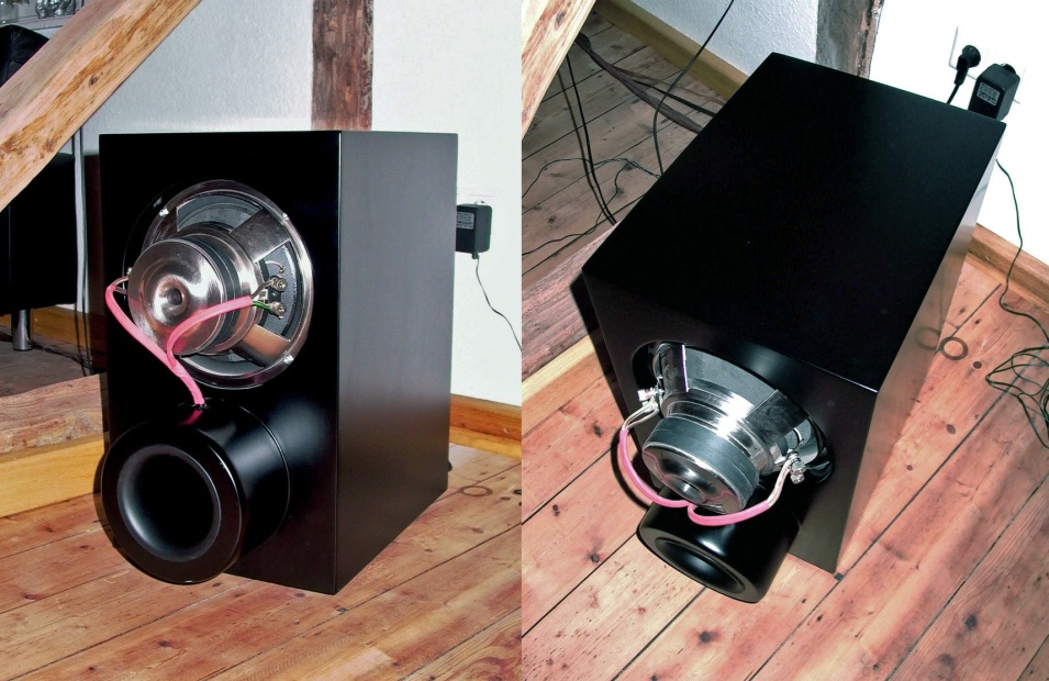 Hifonics subwoofer with GX 10 chassis