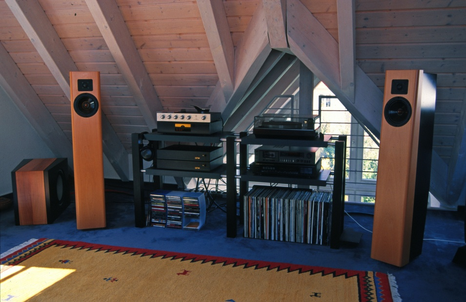 AUDYN LS Two way with Eton 7-360/37 and Dynaudio D28